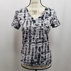 Michael Michael Kors Embellished Tie Dye Tee Shirt